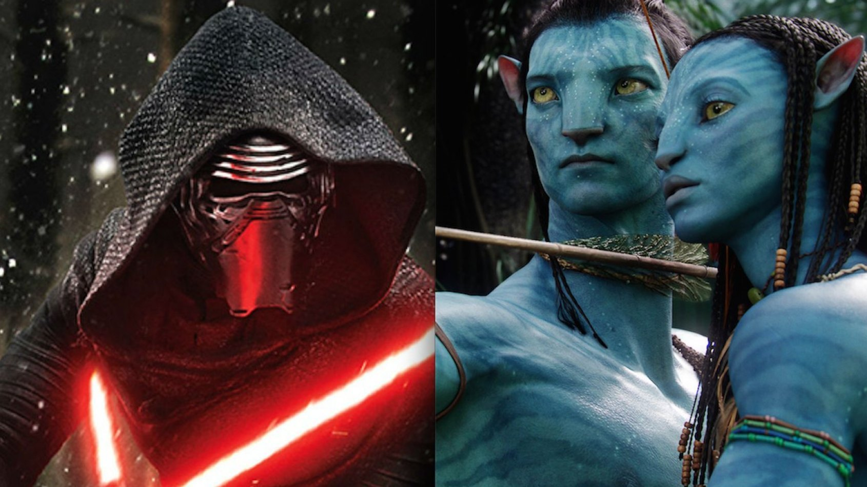 Star Wars chasse Avatar