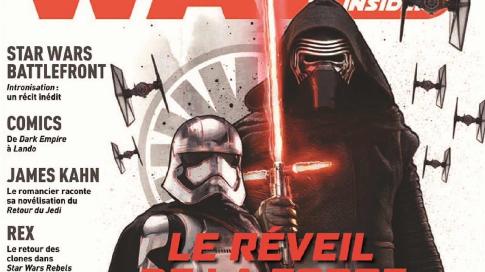 Panini : les couvertures du Star Wars Insider N°5