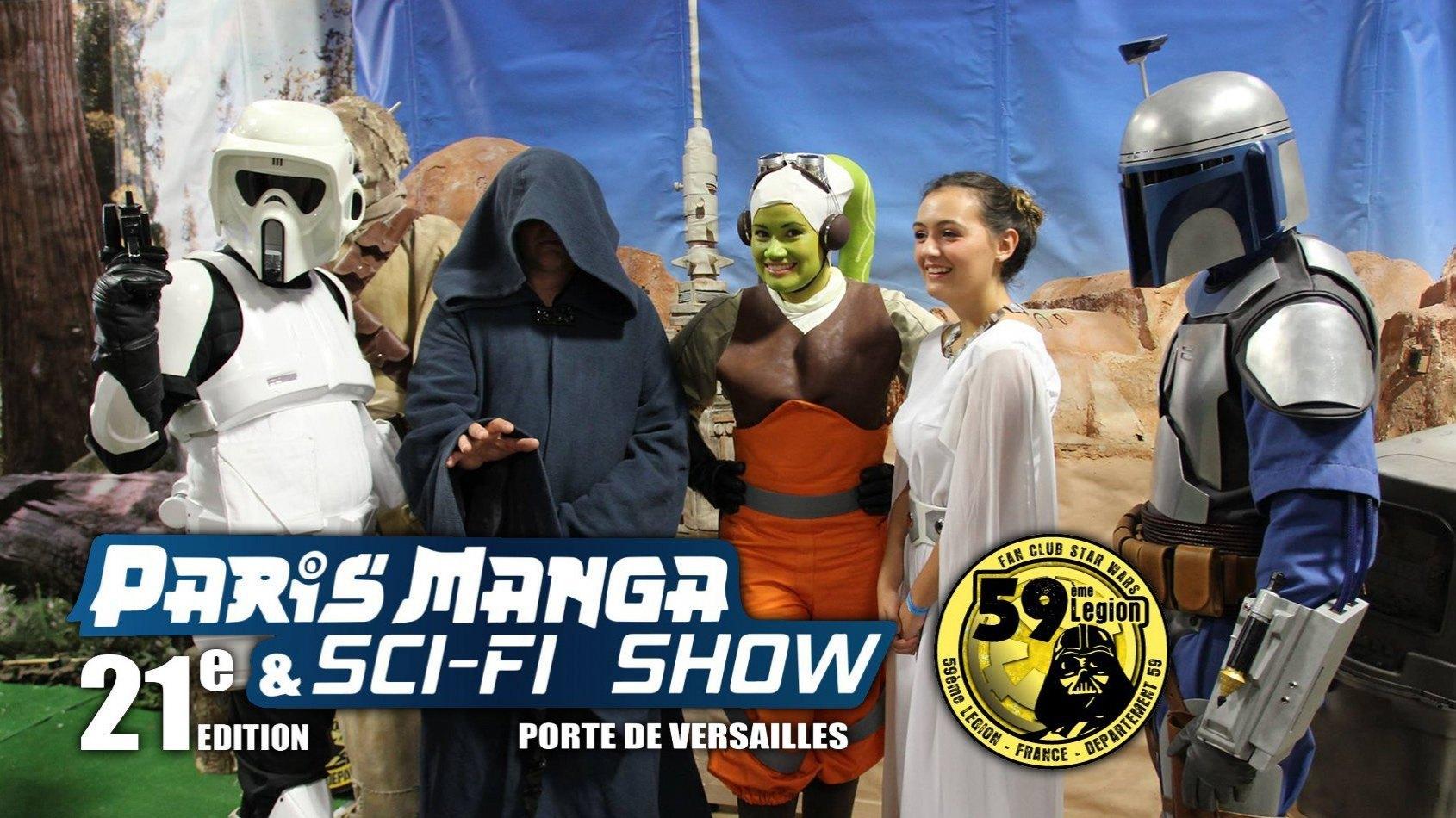 La 59ème Légion & PSW au Paris Manga ce week-end !