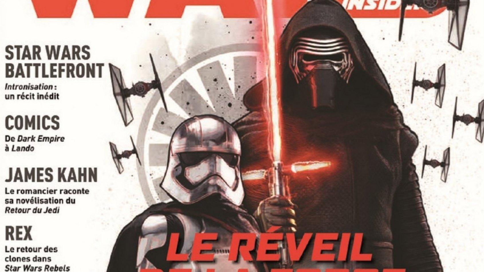 Panini : Sortie de Star Wars Insider n°5