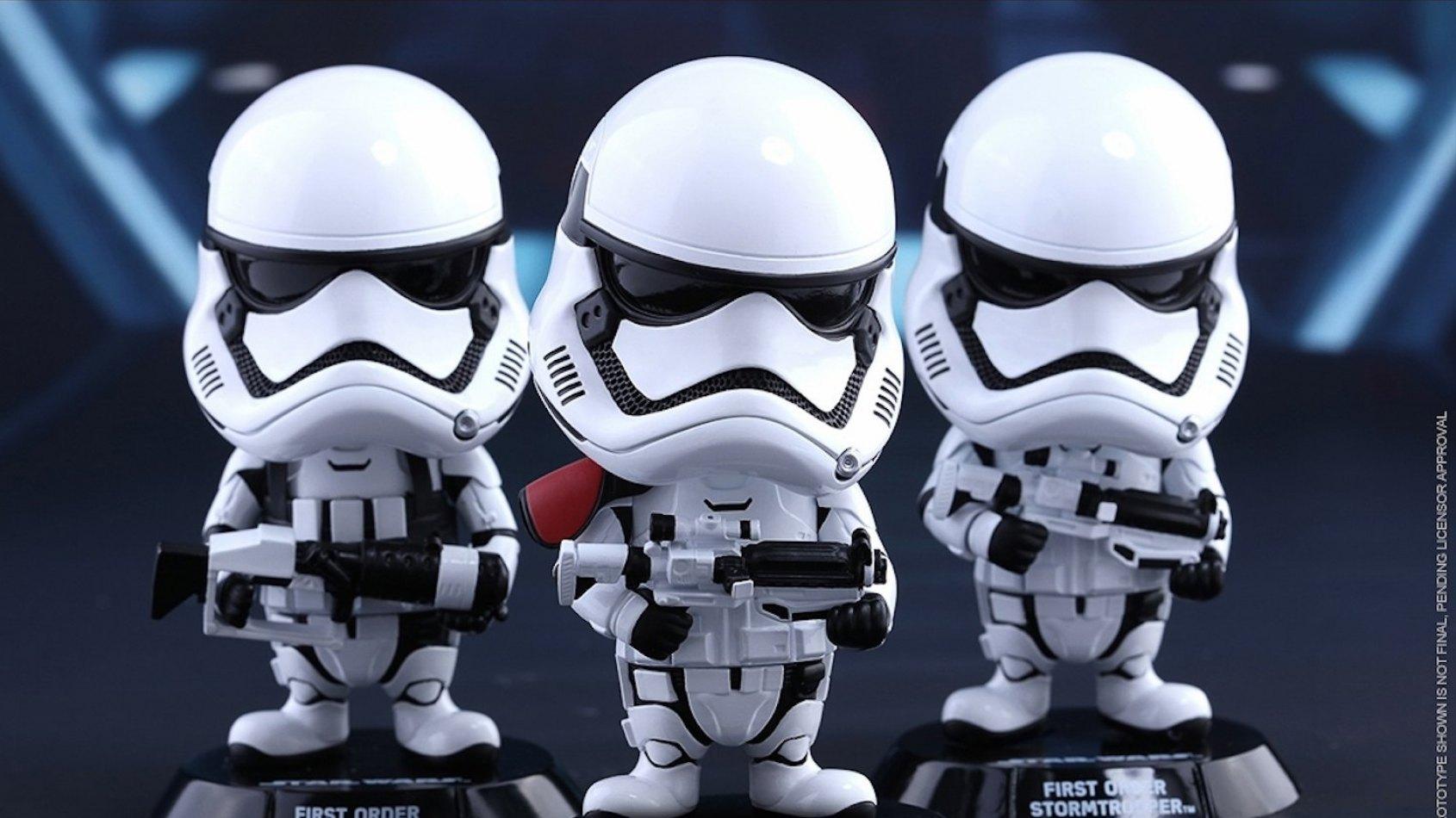 Hot Toys dévoile ses figurines Bobble-Head du Réveil de la Force