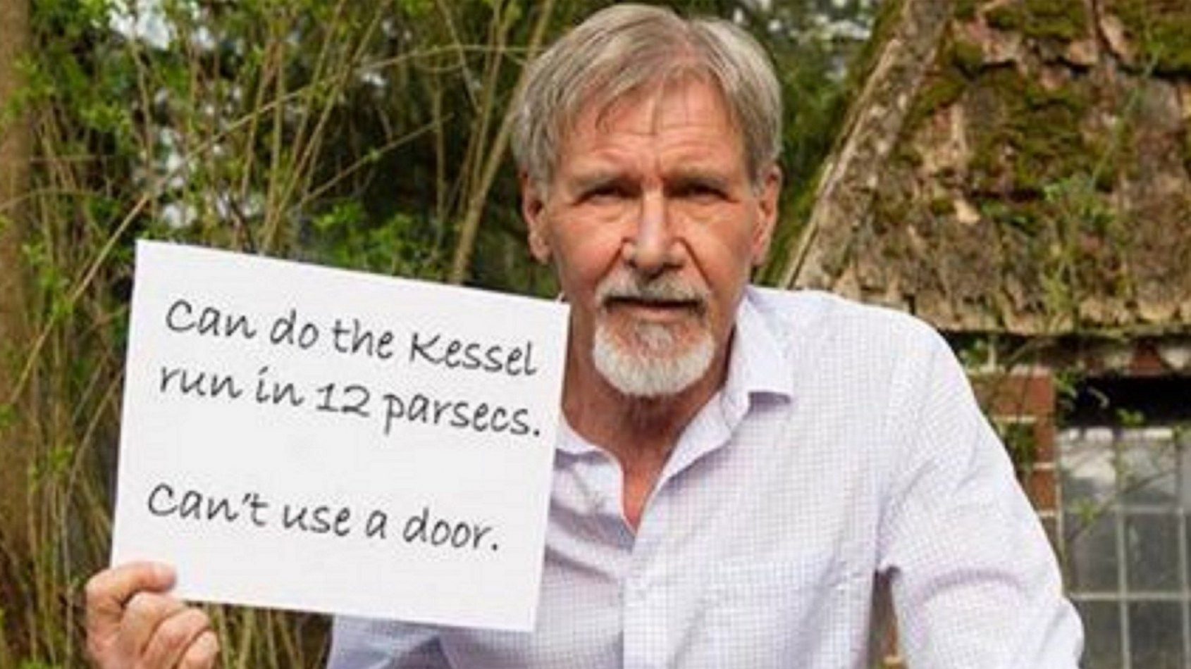 Parce qu'on n'abîme pas Harrison Ford comme ça!