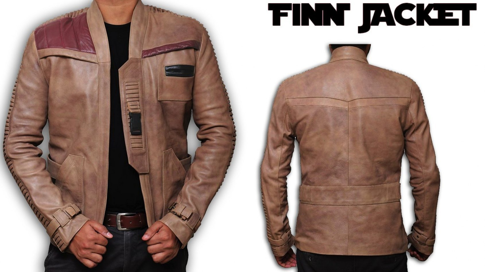 Envie d'avoir la même veste que Finn ?