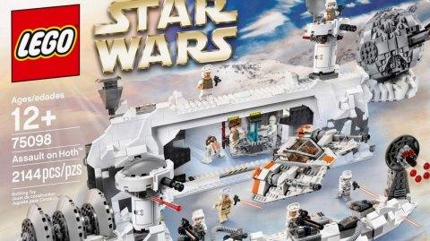 Nouveau Lego sur la planète Hoth