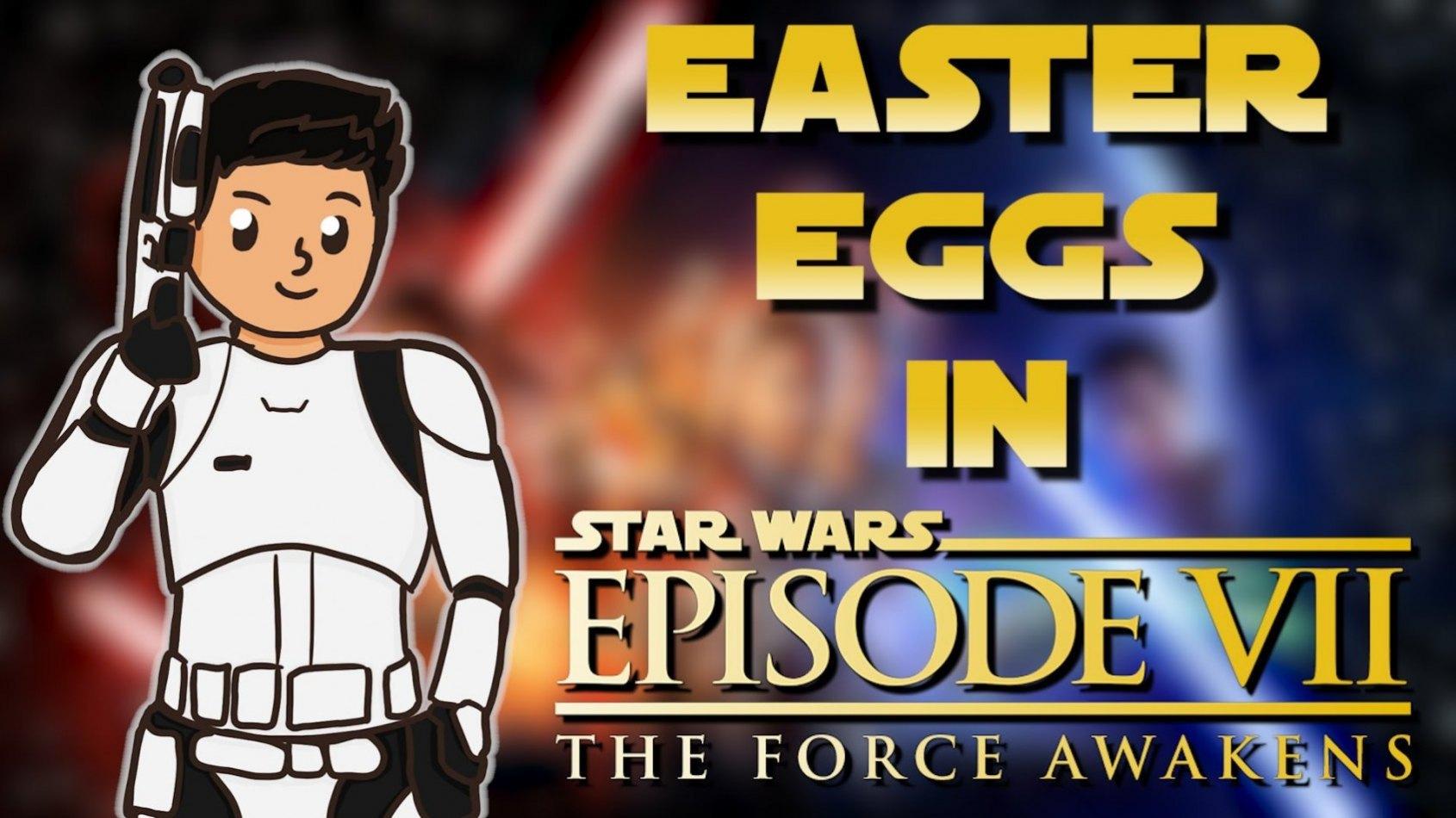 Easter Eggs et élèments cachés de l'Épisode VII analysés en vidéo!