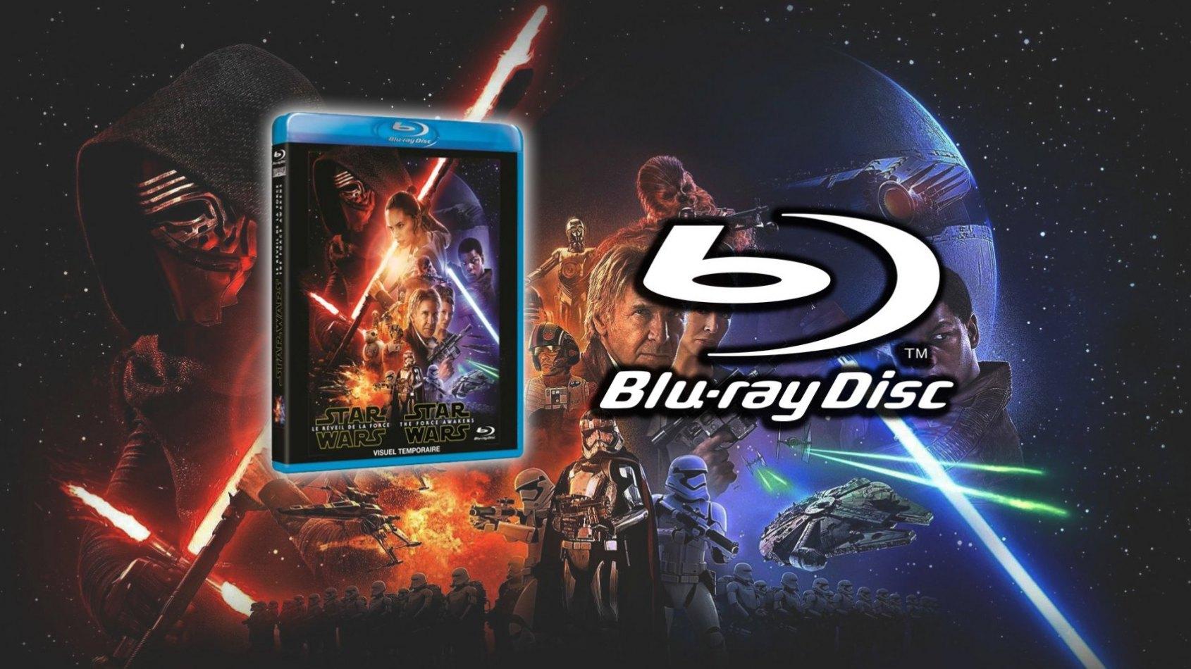 3 disques pour le Blu-Ray du Réveil de la Force ?