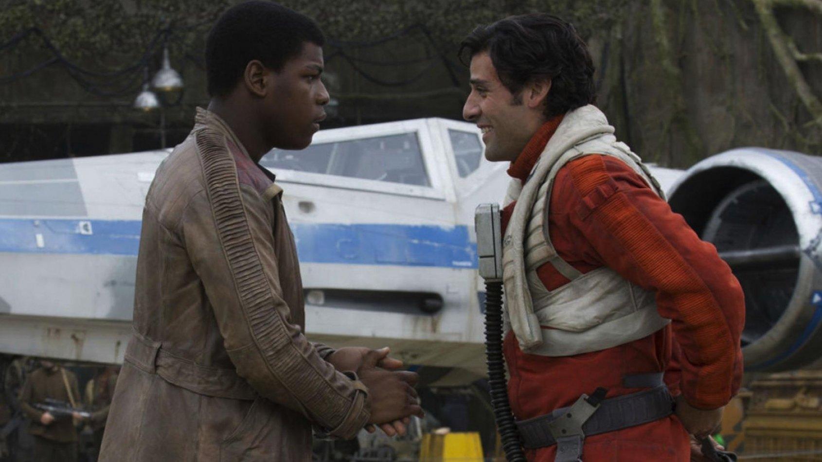 Une romance gay entre Finn et Poe ?