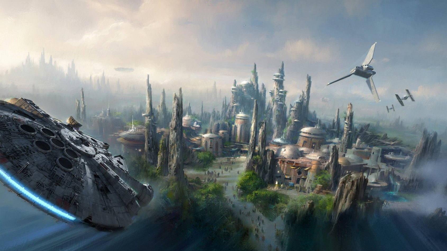 Star Wars Land se dévoile en images