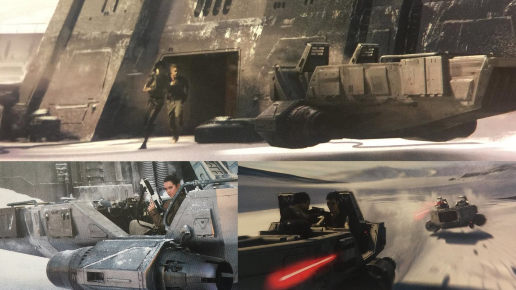 7 sc�nes coup�es dans le Blu-Ray du R�veil de la Force
