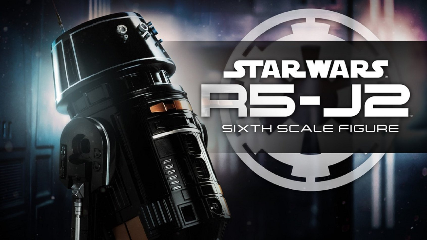 Sideshow Collectibles Sixth Scale R5-J2 Imperial Astromech Droid