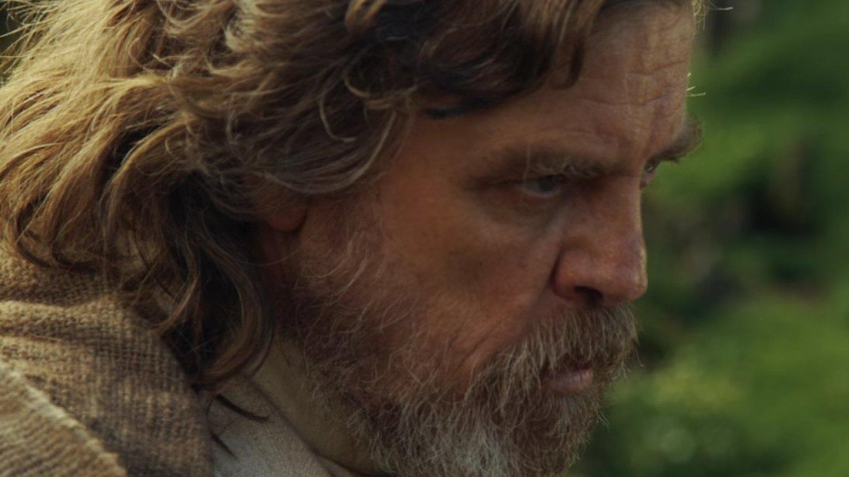 Une photo inédite de Luke Skywalker dans le Réveil de la Force
