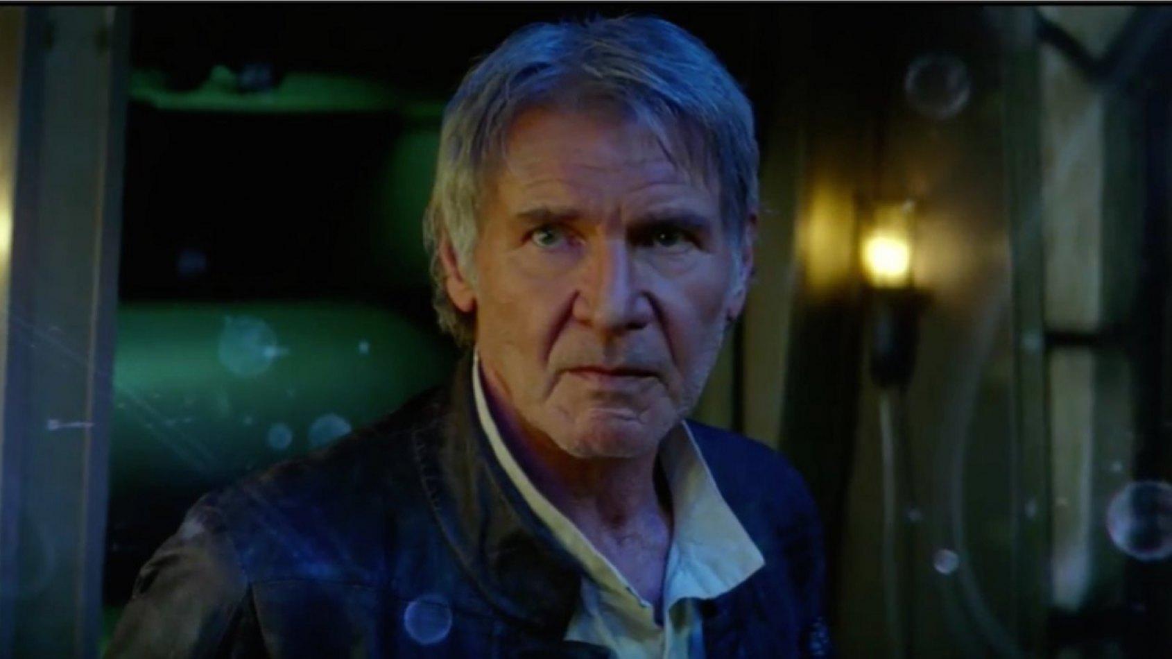 La réaction d'Harrison Ford sur le destin de Han Solo