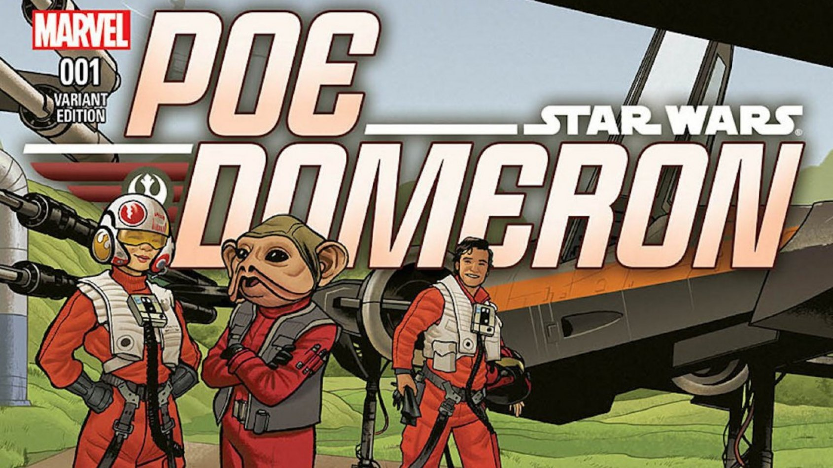 Preview pour le comic sur Poe Dameron