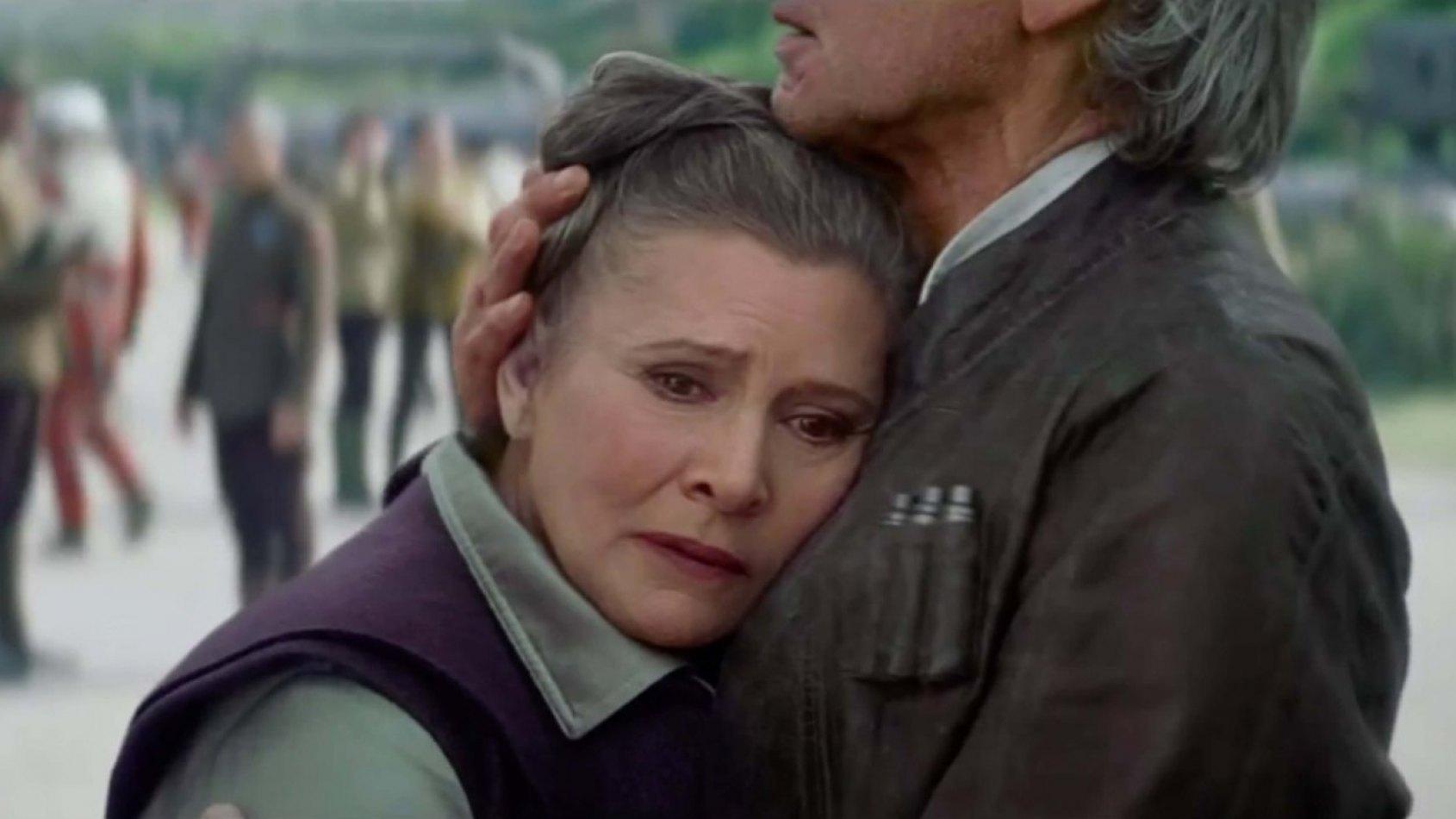 Pourquoi Leia a-t-elle snobé Chewbacca dans Le Réveil de la Force ?