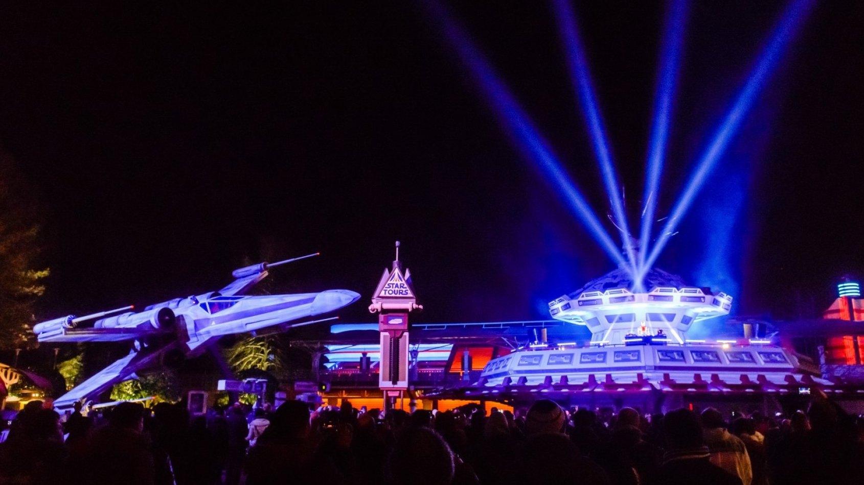 Les Photos du Dernier Appel pour l'Endor Express à Disneyland Paris