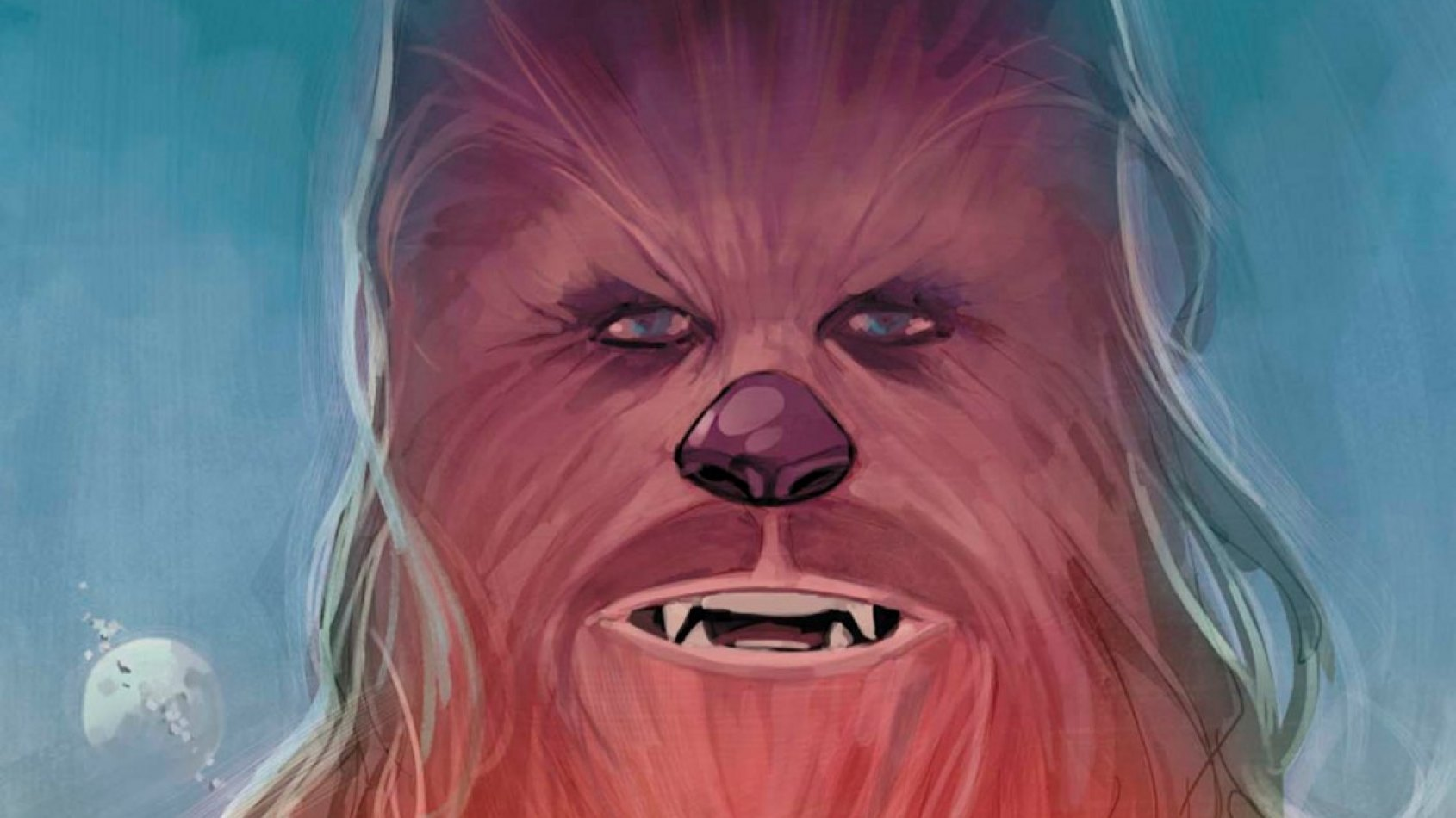 Panini : la couverture de Chewbacca