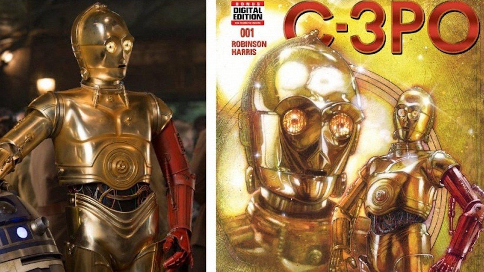 Anthony Daniels donne son avis sur le bras rouge de C-3PO