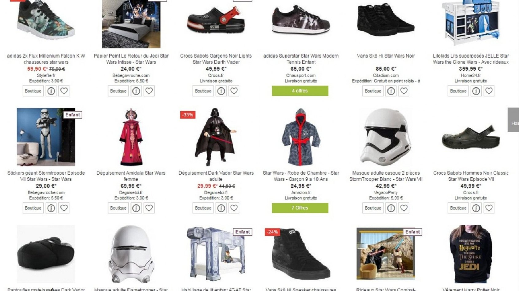 ShopAlike : LA plate forme pour votre shopping Star Wars en ligne