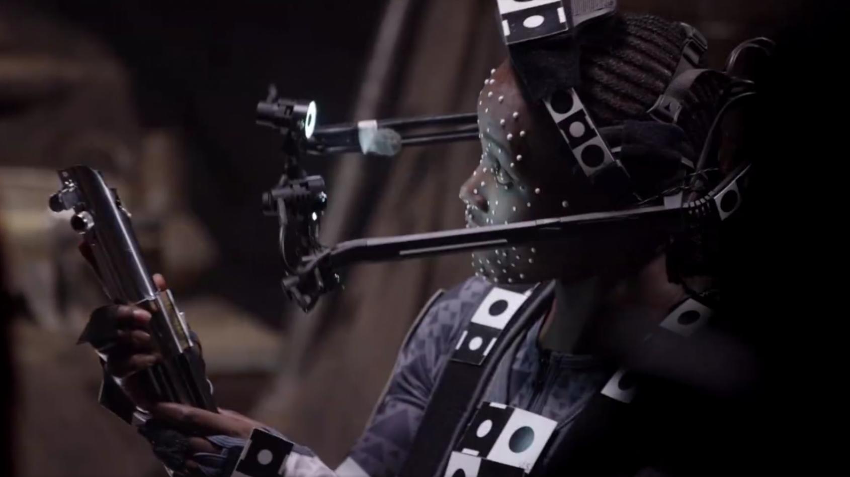 Lupita Nyong'o nous partage l'extrait d'un bonus du Réveil de la Force