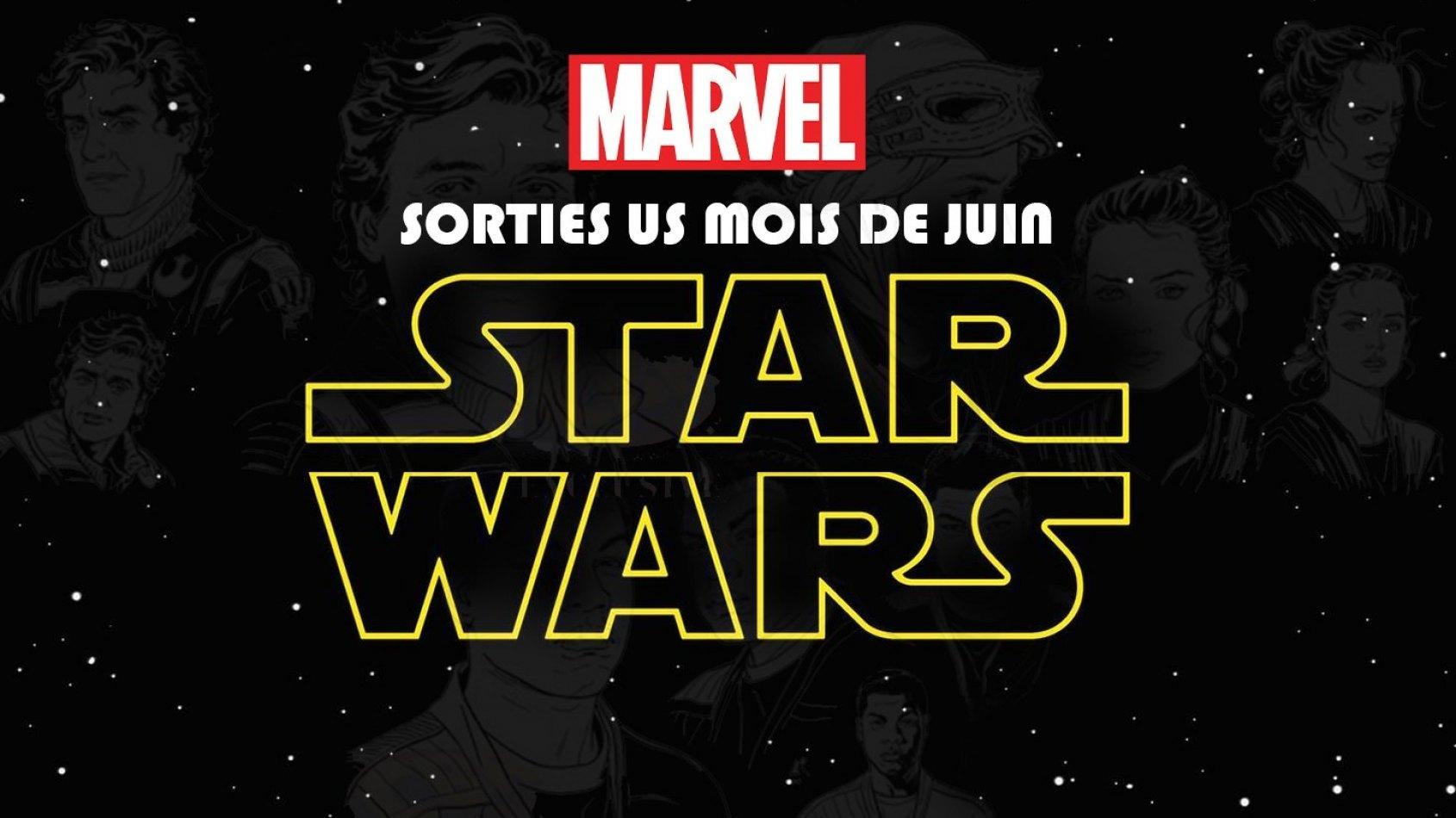 Les sorties Marvel pour le mois de Juin [US]