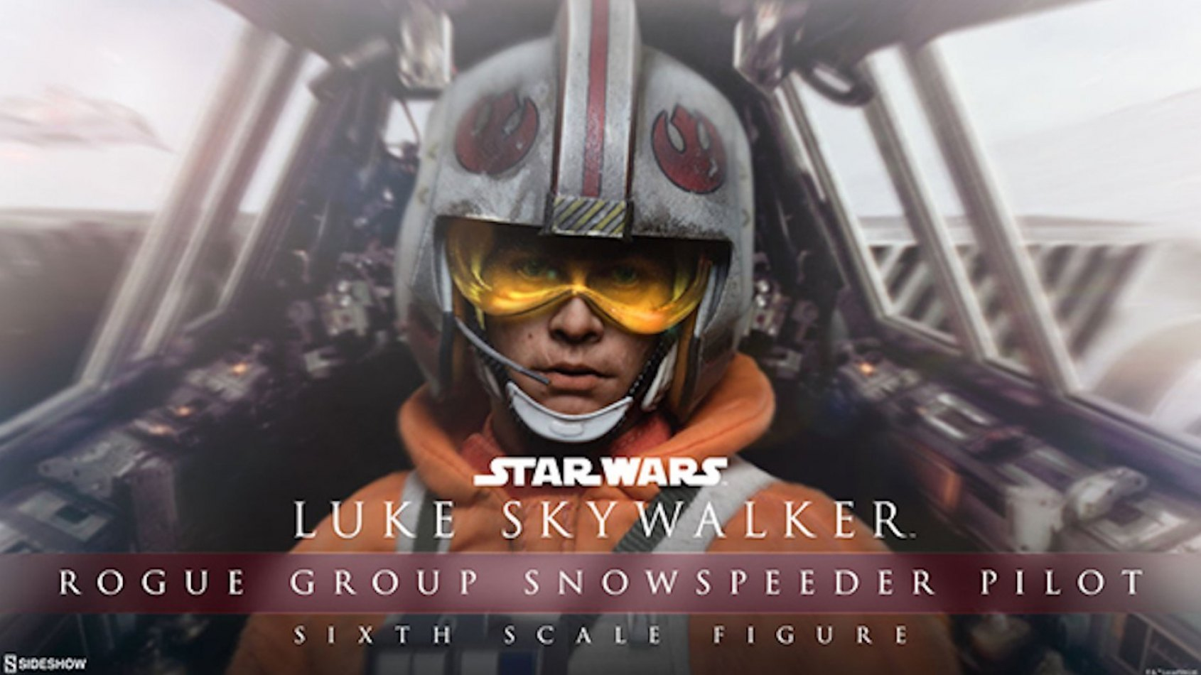 Sideshow Collectibles: Luke Skywalker Snowspeeder