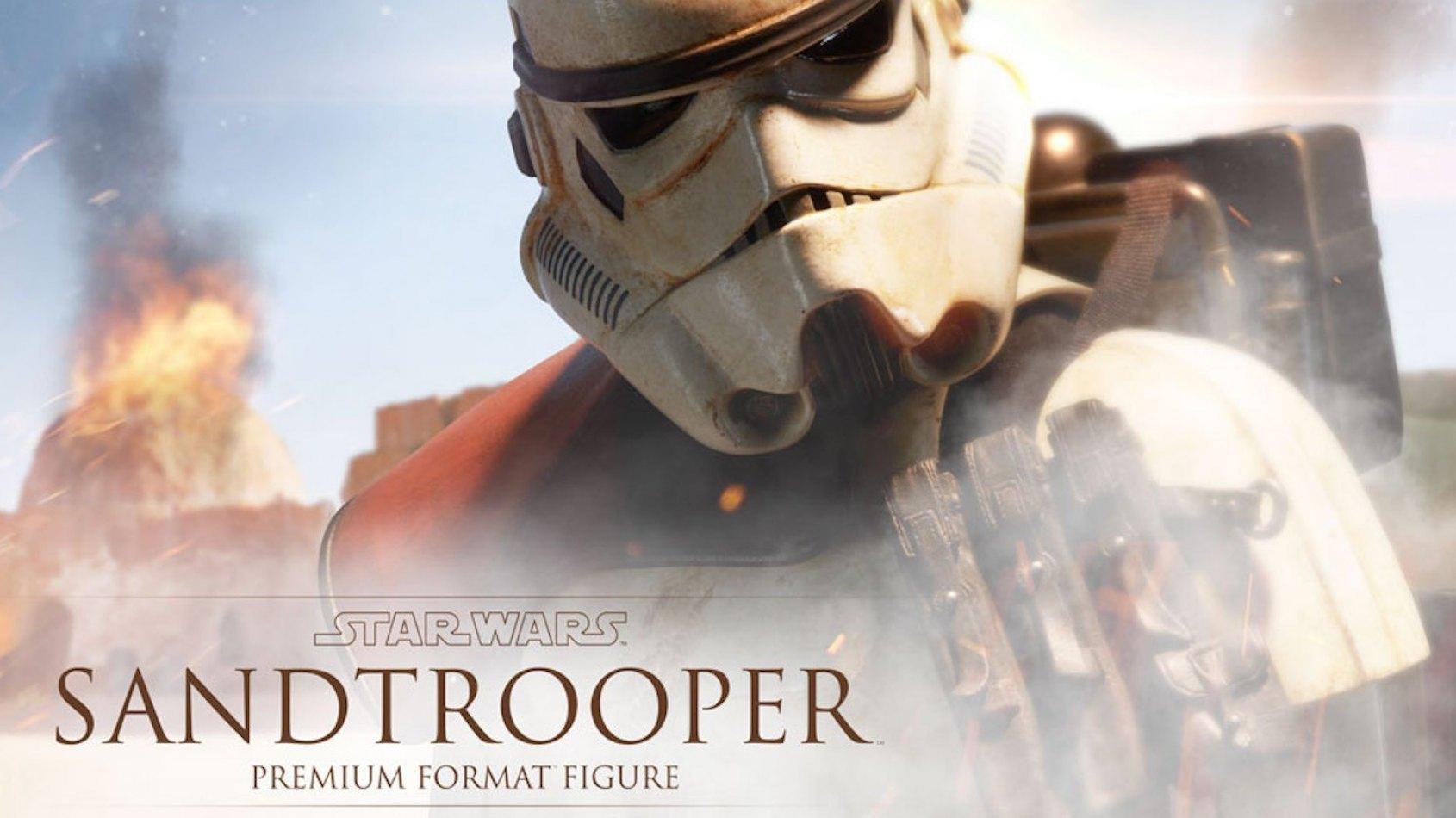 Sideshow Collectibles: Sandtrooper