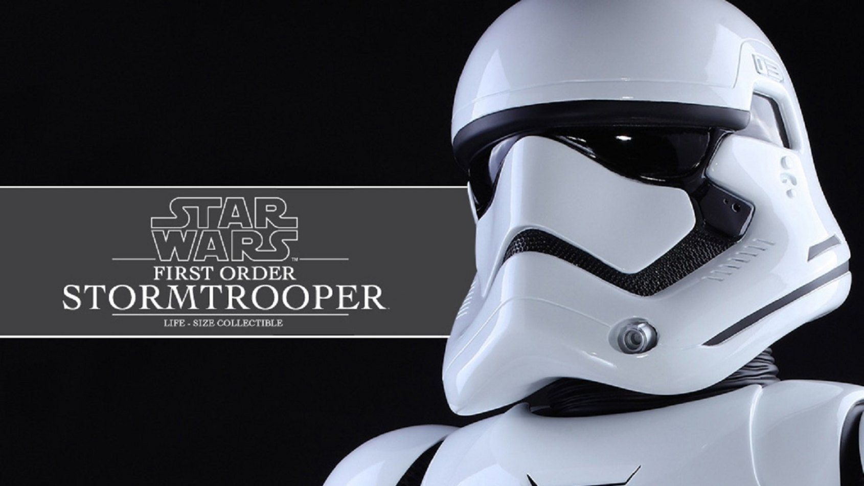 Hot Toys pr�sente son Stormtrooper First Order Life-Size !