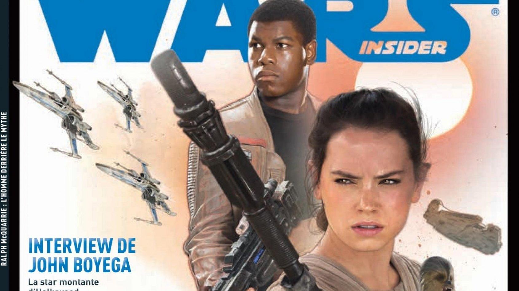 Les couvertures du Star Wars Insider n°6