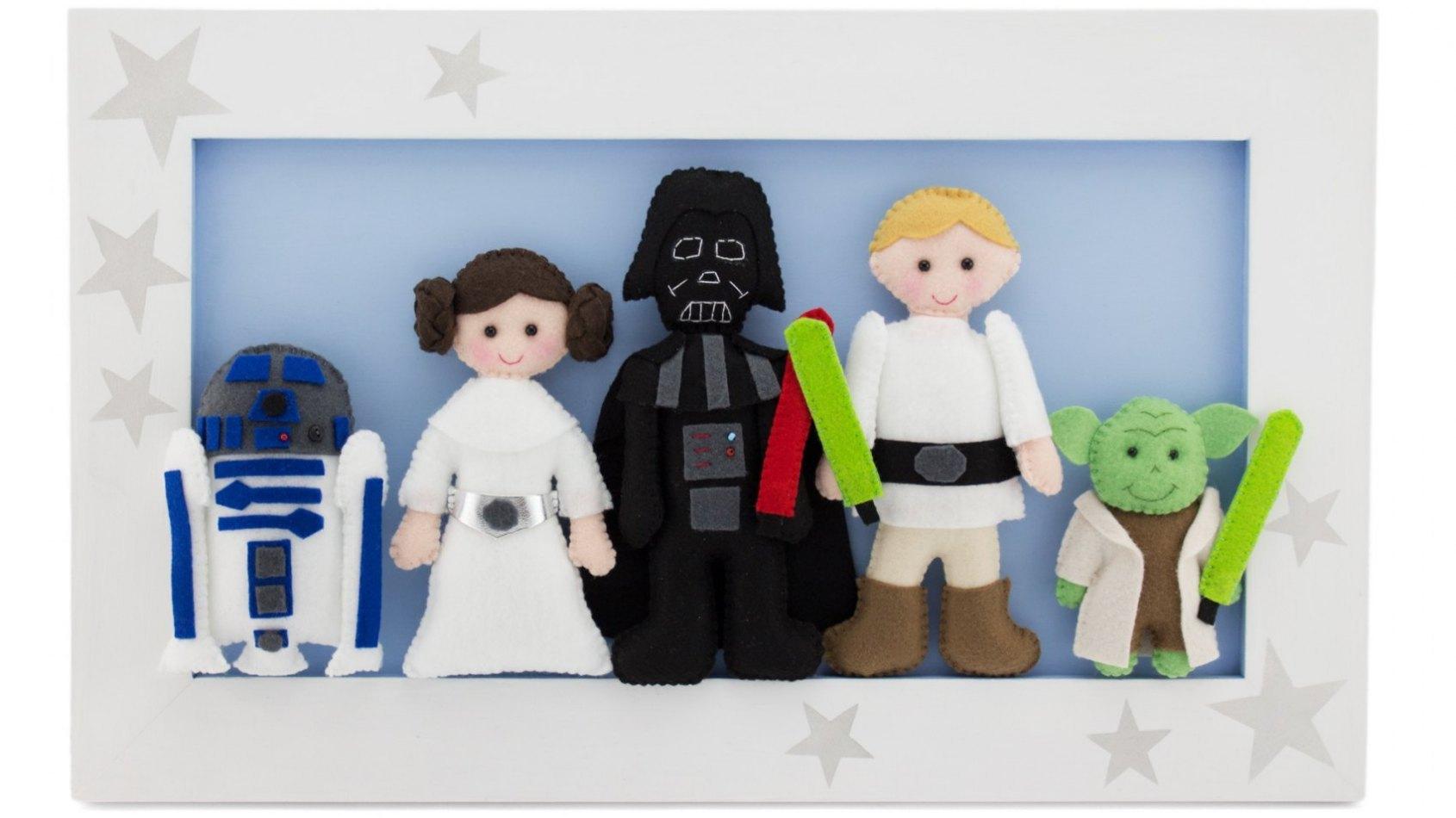Quand Star Wars inspire les jeunes parents Américains