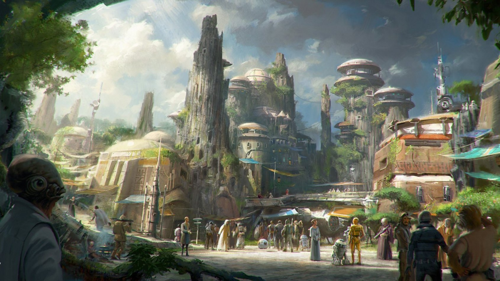 Le chantier du Star Wars Land a officiellement commencé !