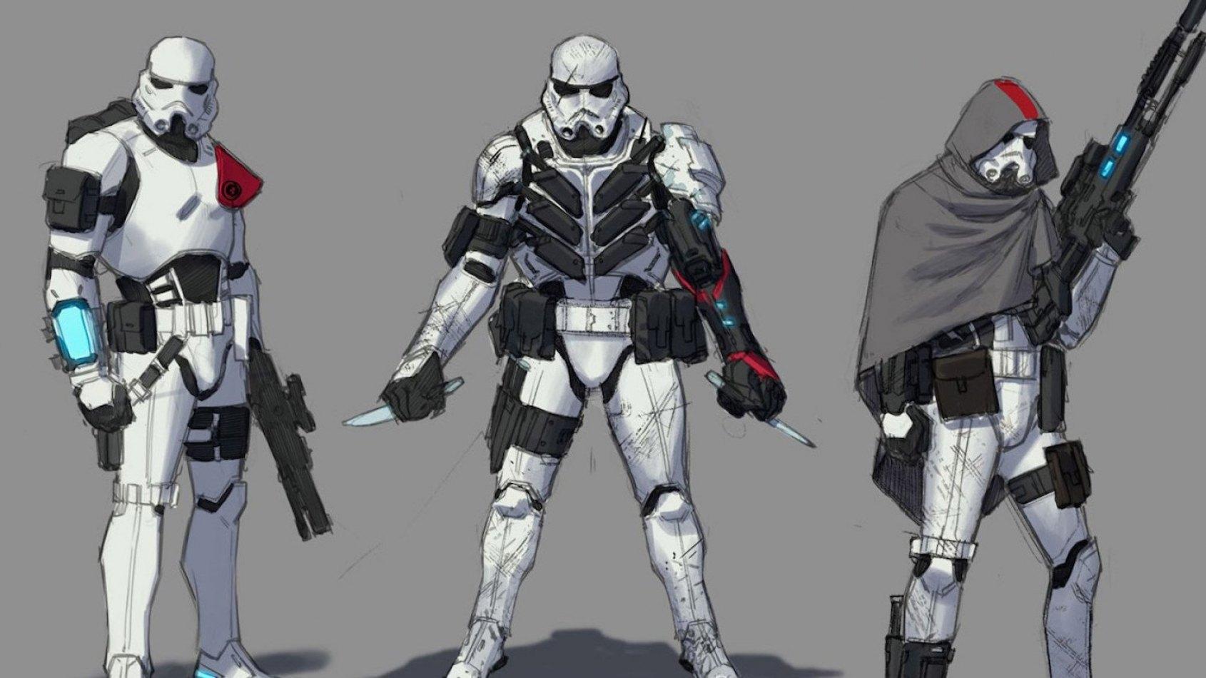 Des stormtroopers d'élite en comics!