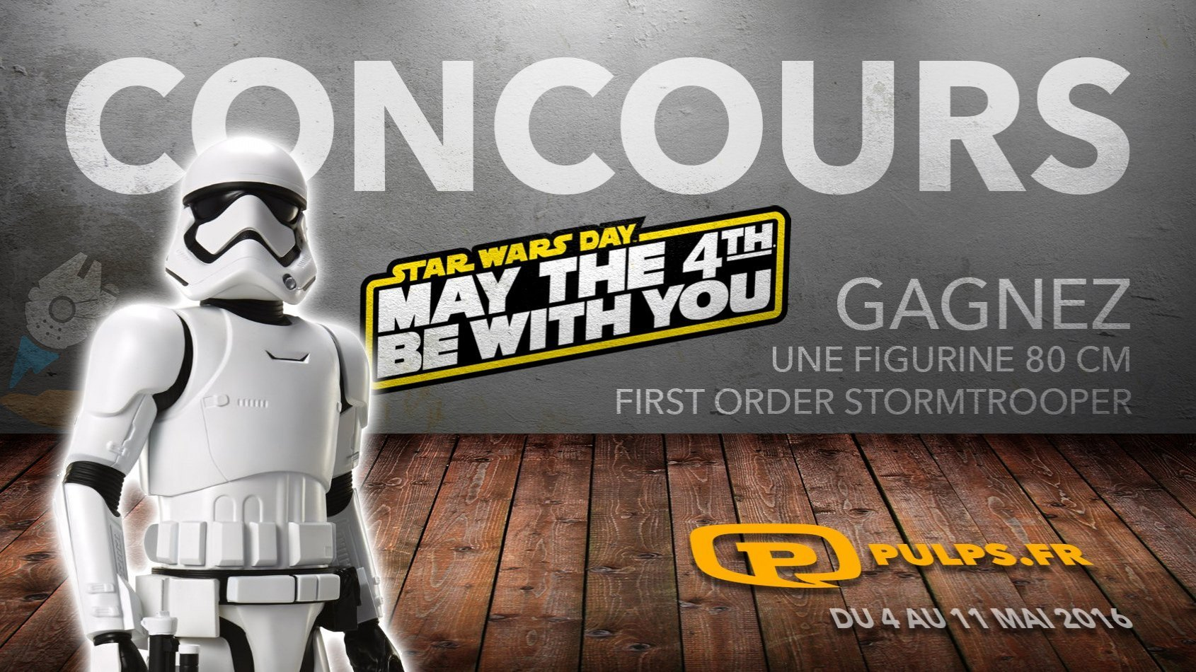 CONCOURS - Gagnez un Stormtrooper First Order