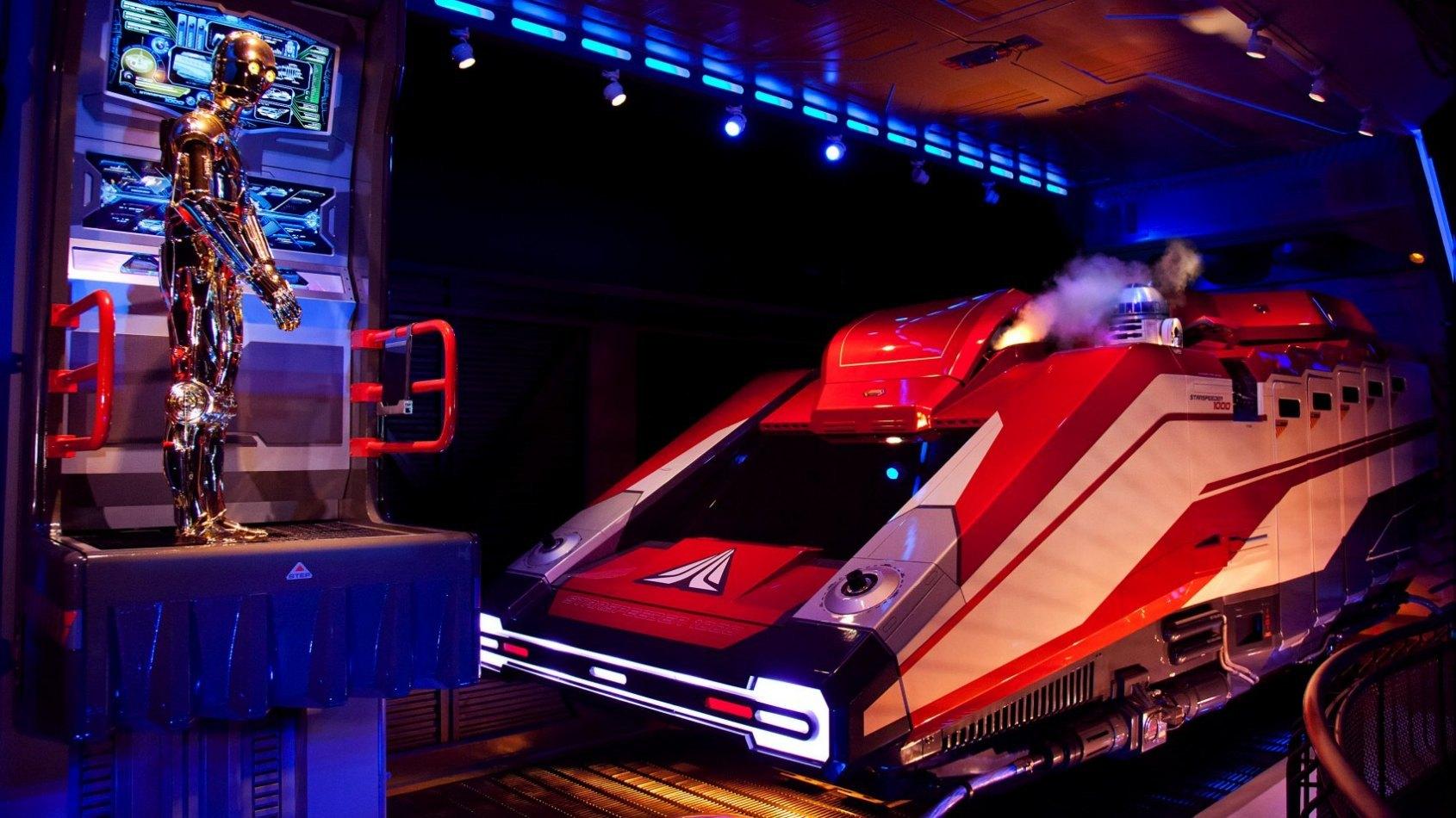 La nouvelle entrée de Star Tours 2 à Disneyland Paris dévoilée