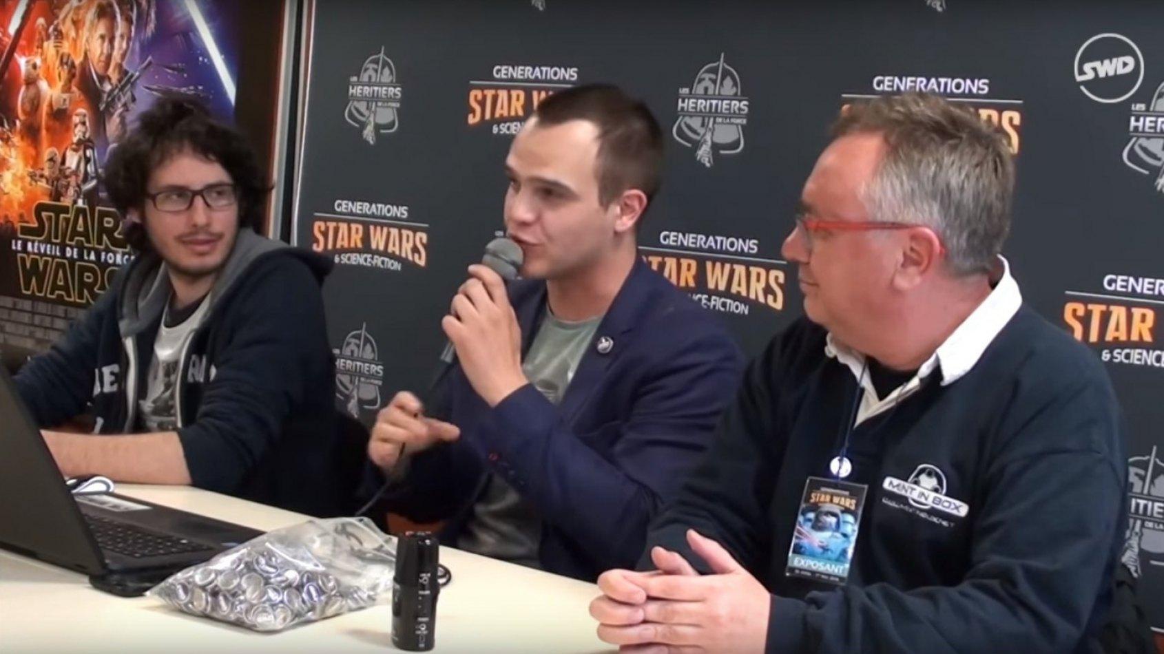 Replay vidéo de Star Wars en Direct à Générations Star Wars à Cusset !