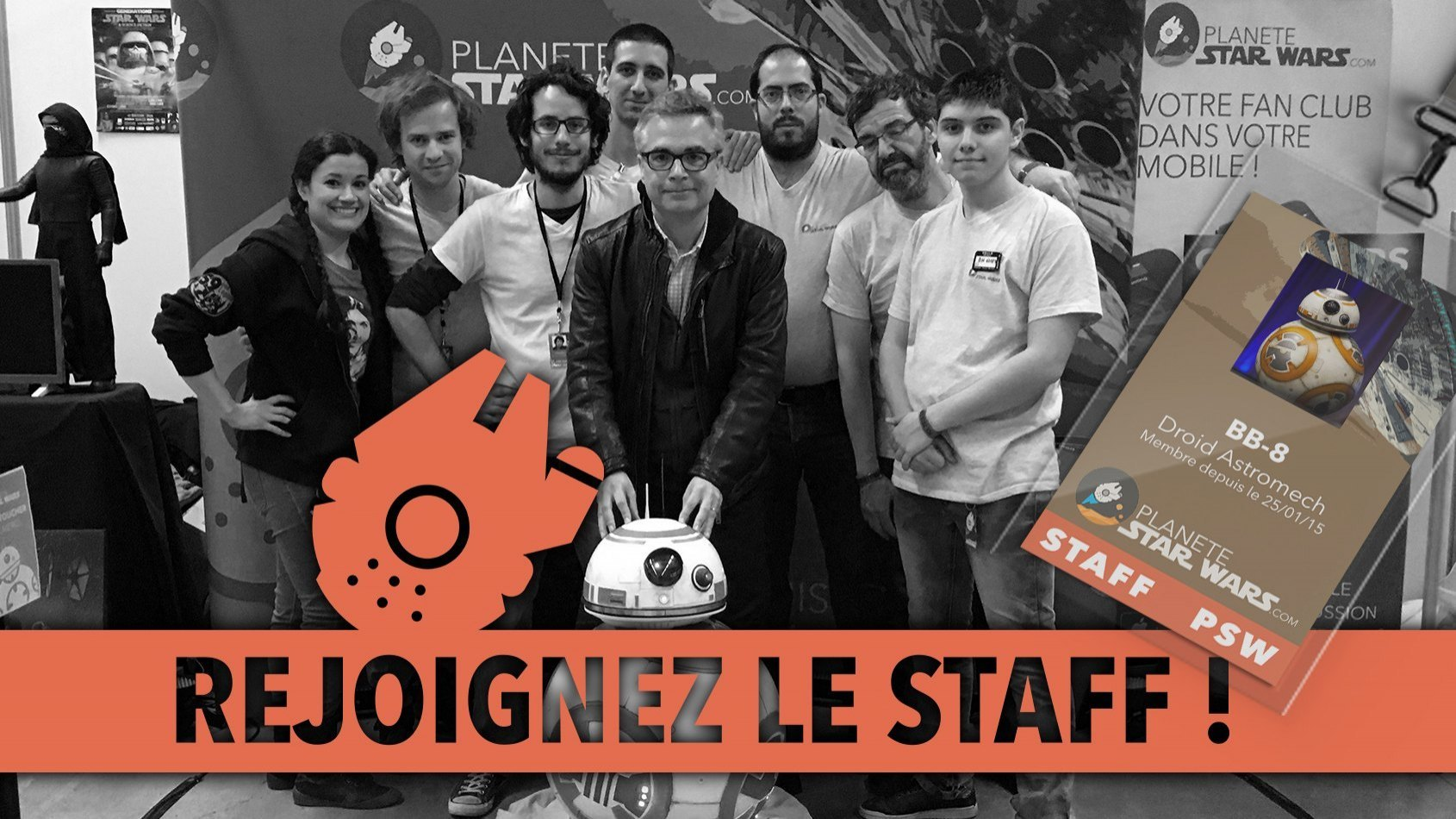 Rejoignez le staff PSW ! Nous avons besoin de vous !