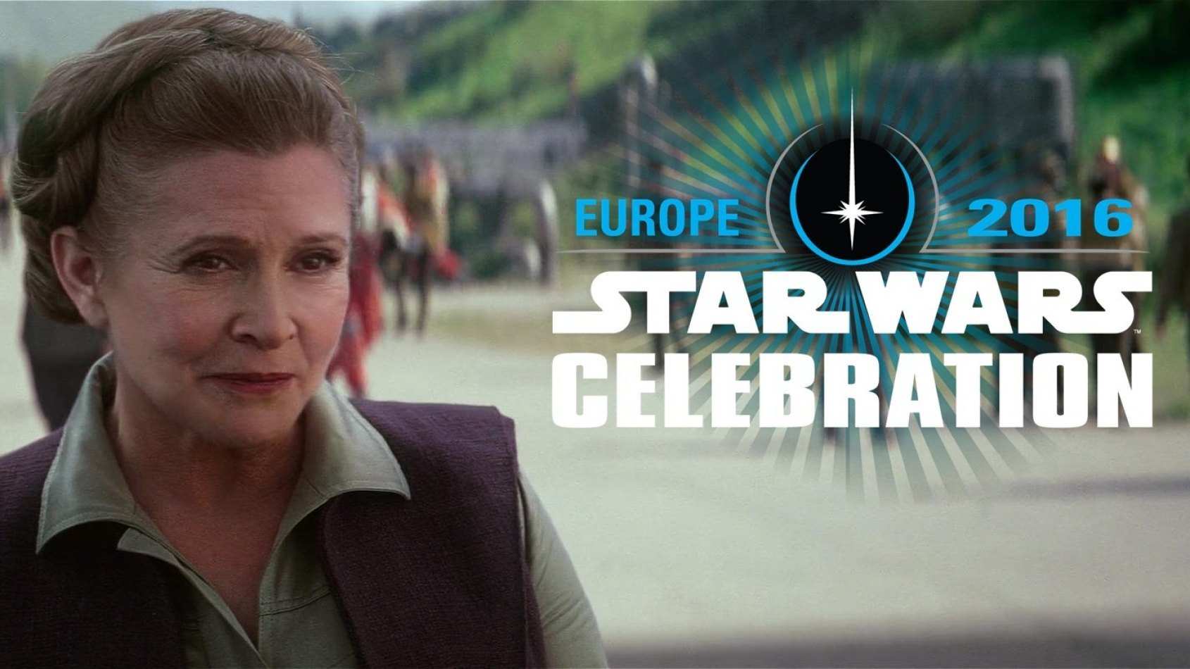 Celebration Europe : Carrie Fisher sera de la partie !