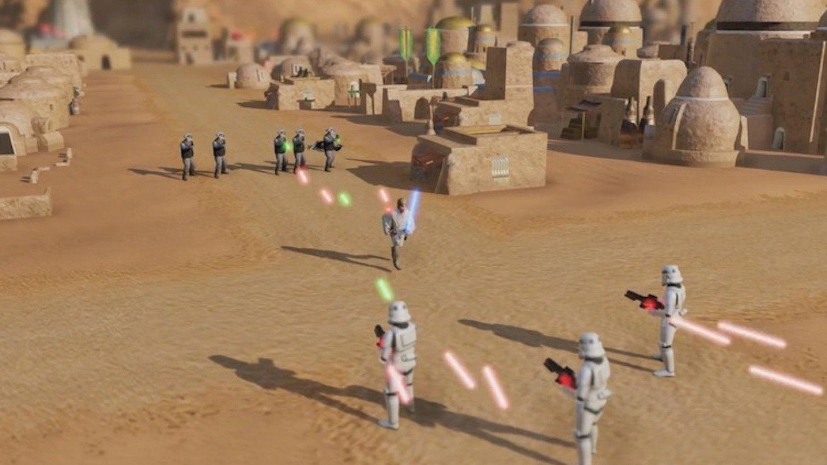 Des images d'un RPG Star Wars en attente divulguées