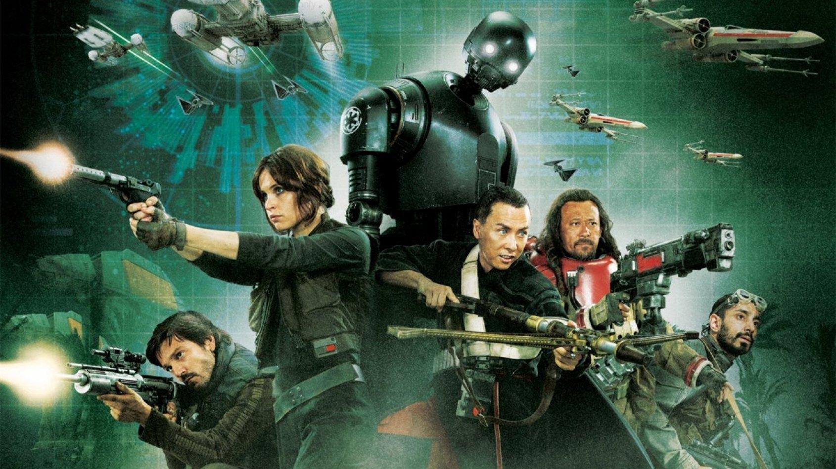 Une tonne d'infos et de photos sur Rogue One !