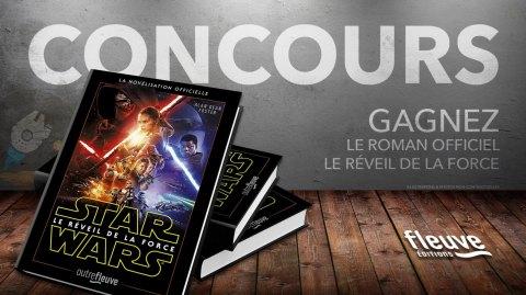 Concours : Gagnez le roman officiel de Star Wars Le Réveil de la Force