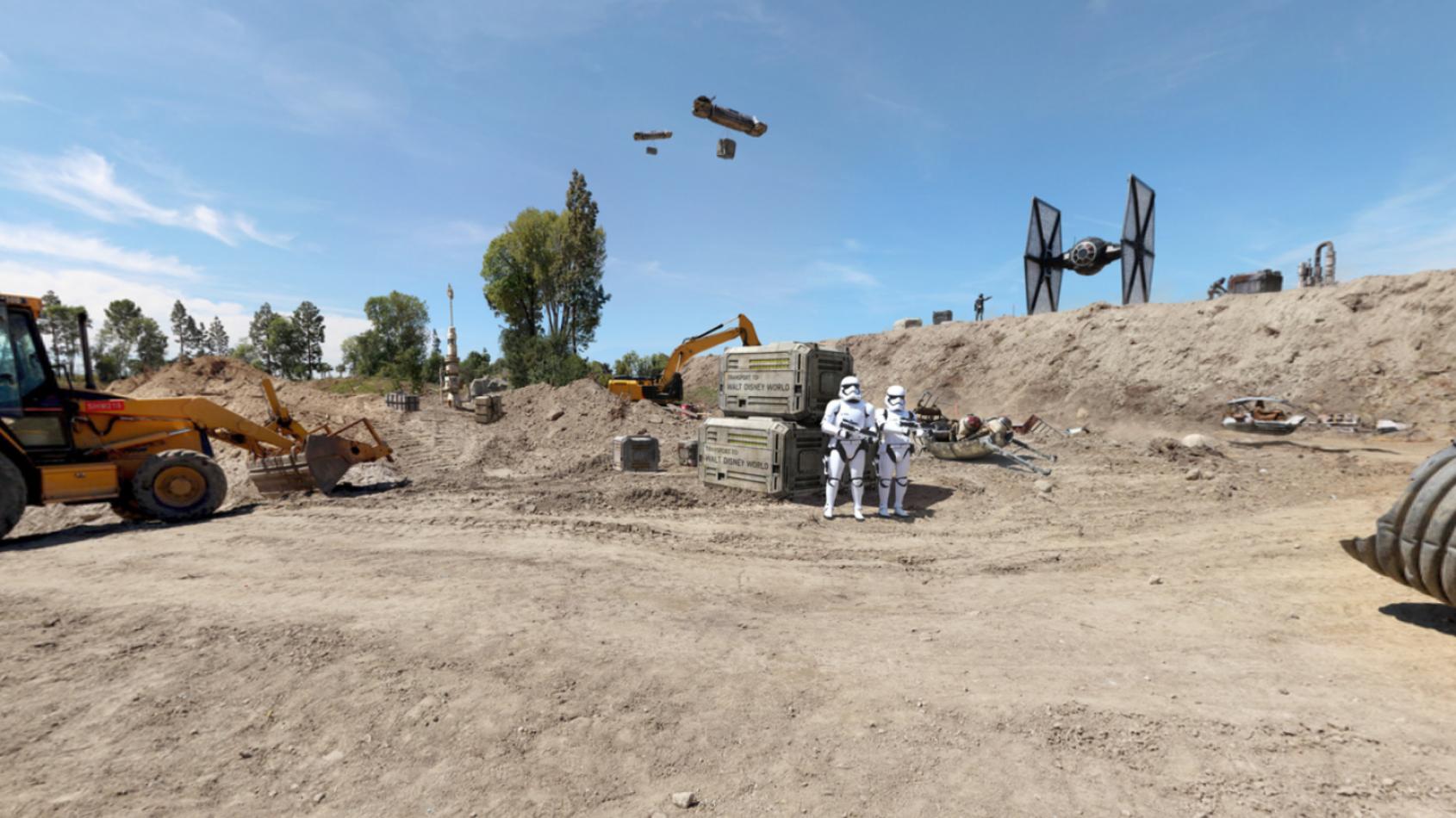 Et si la Force �tait r�ellement dans Star Wars Land ?