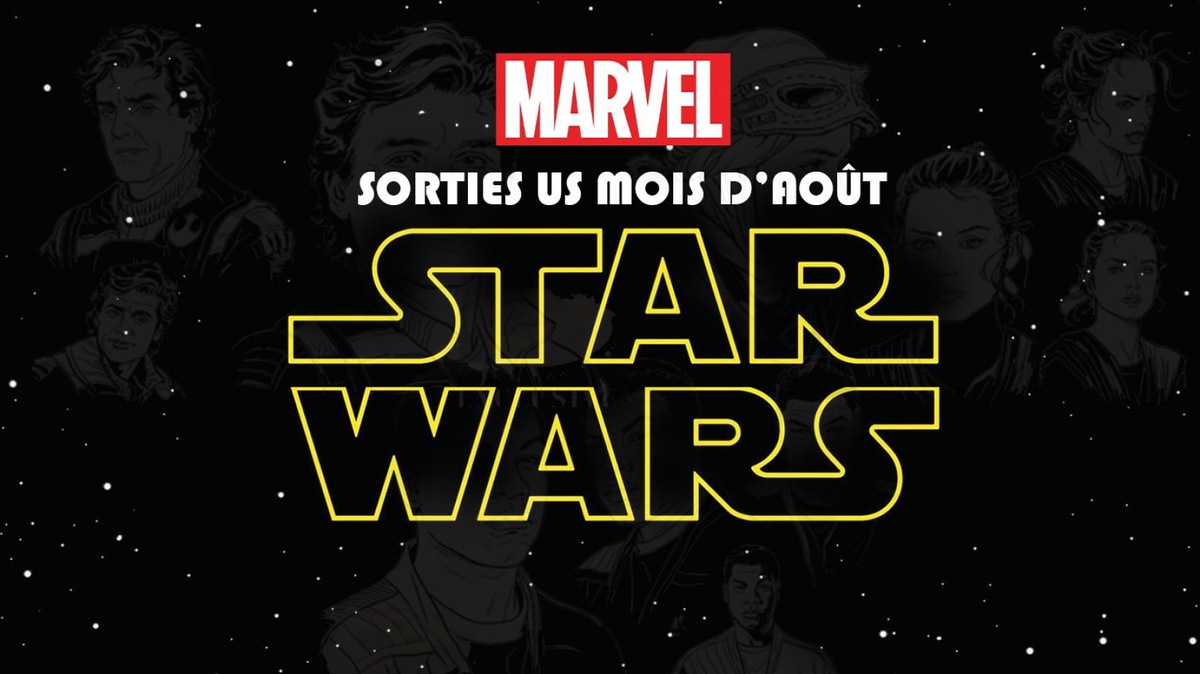 Les sorties Marvel pour le mois d'août [US]