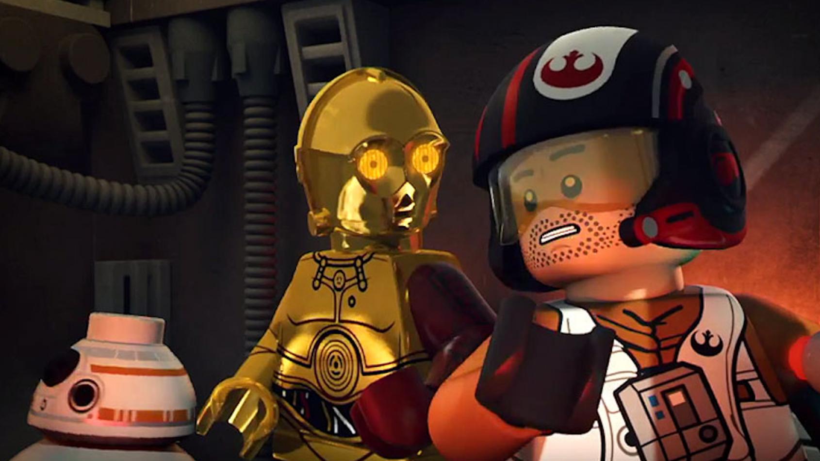 Poe Dameron en vedette dans un trailer inédit pour le prochain LEGO