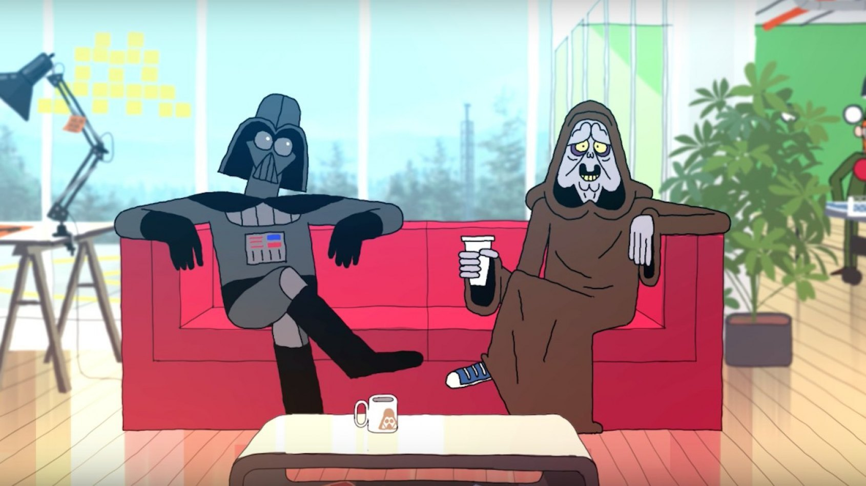 Dark Vador et Palpatine ouvrent une start-up