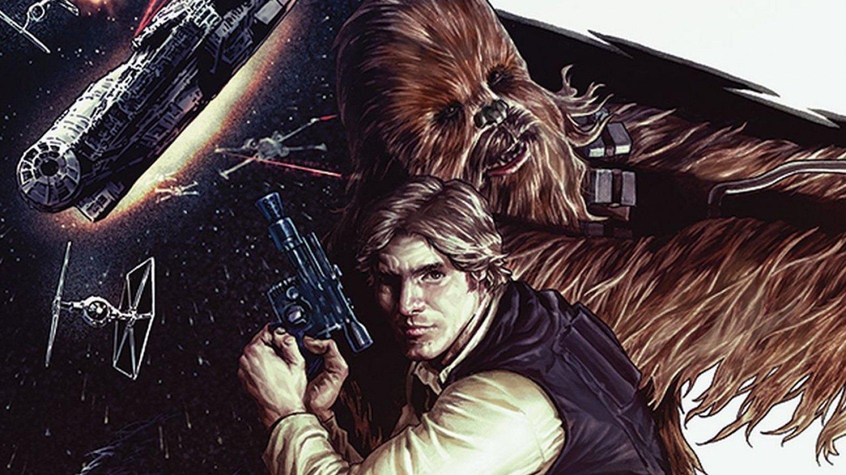 Marvel : Découvrez les superbes couvertures du comic : Han Solo #1