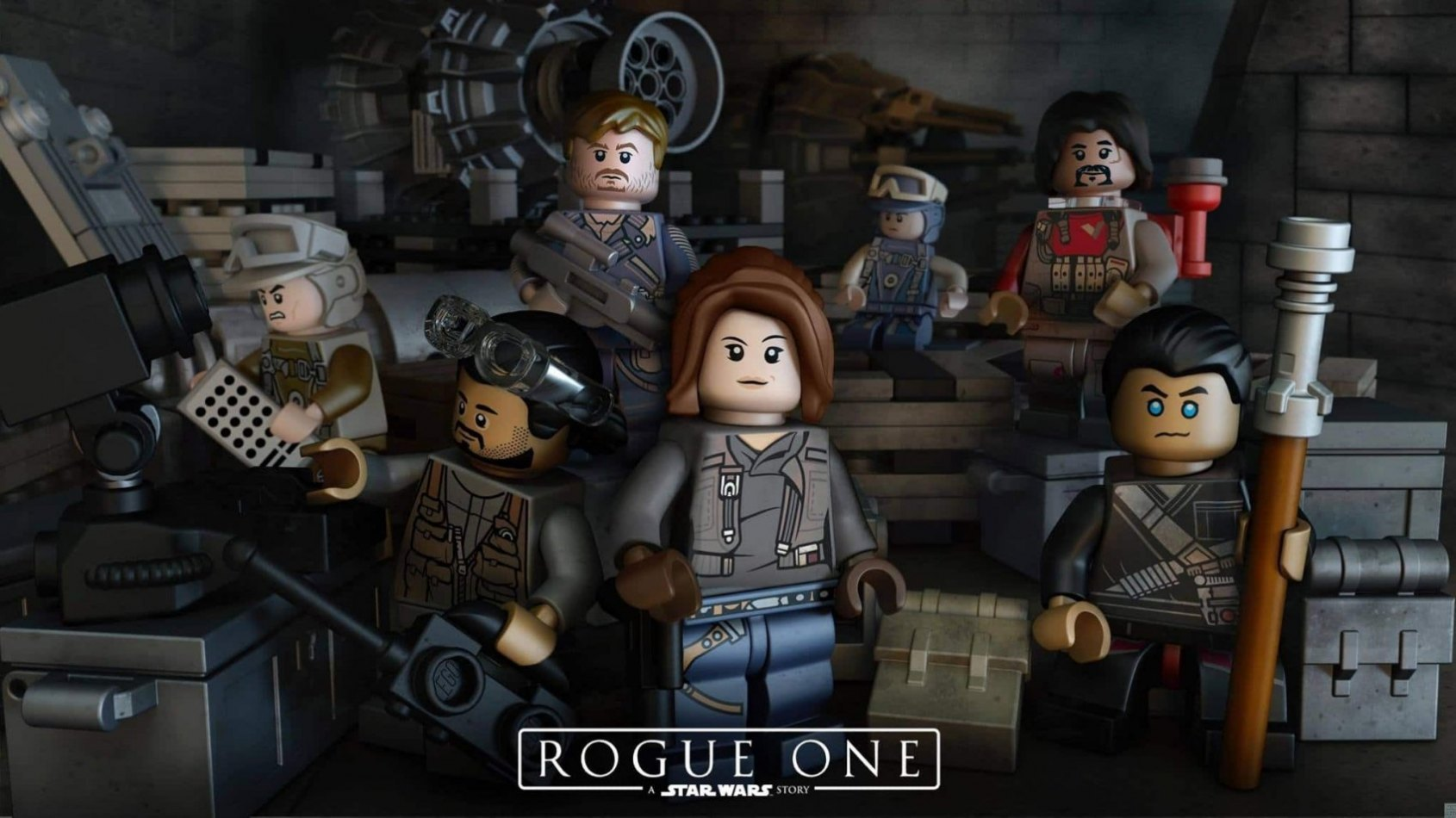 Les figurines Lego � construire de Rogue One: A Star Wars Story