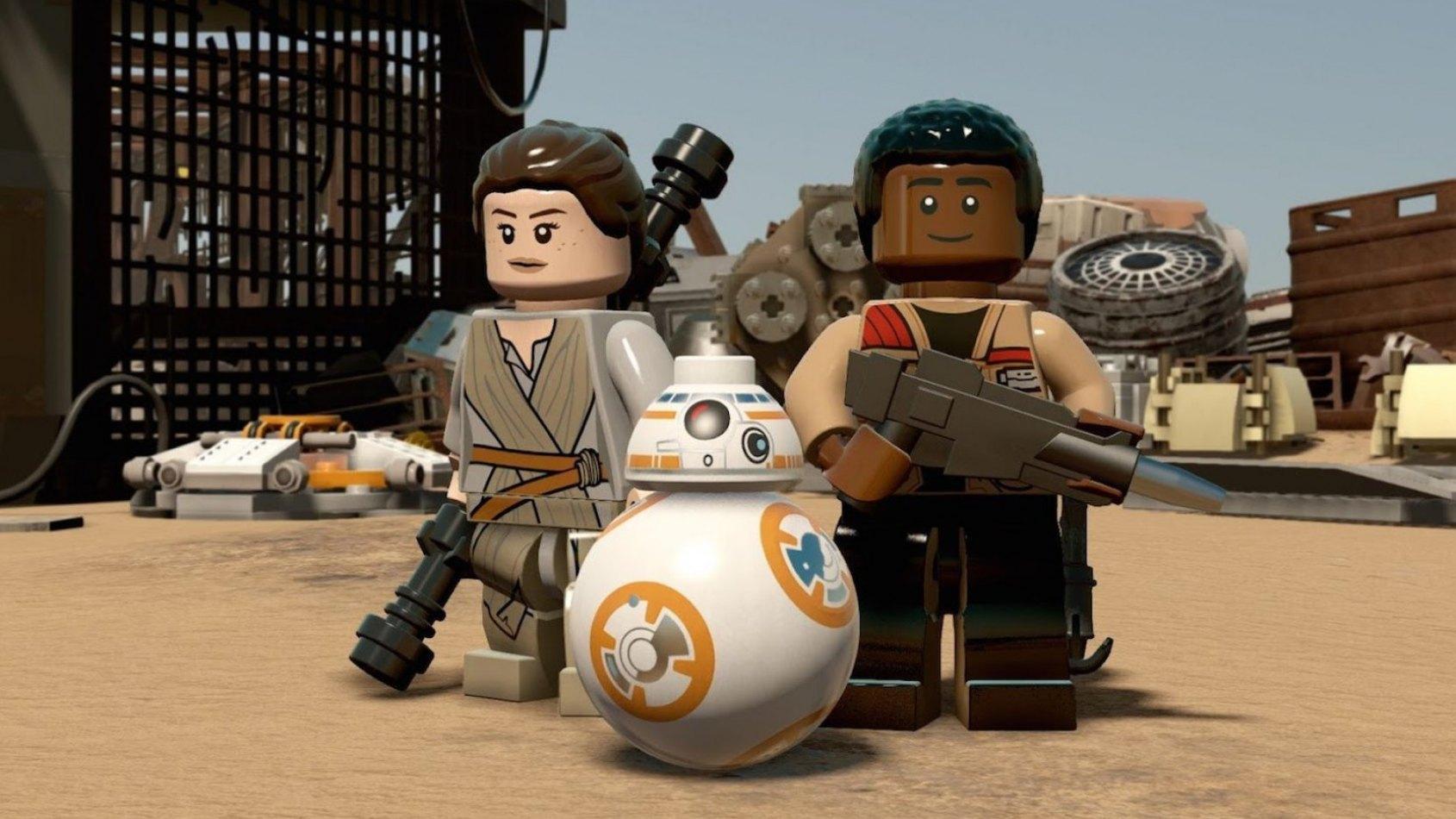 Un nouveau trailer d�di� � Finn pour le prochain jeu-vid�o Lego