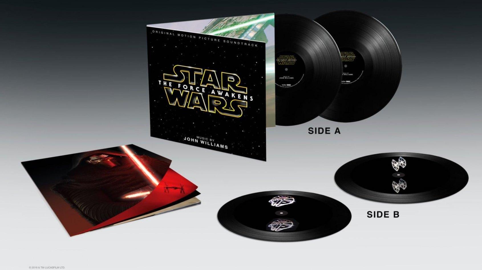 Nouvelle version vinyle de la musique du Réveil de la Force