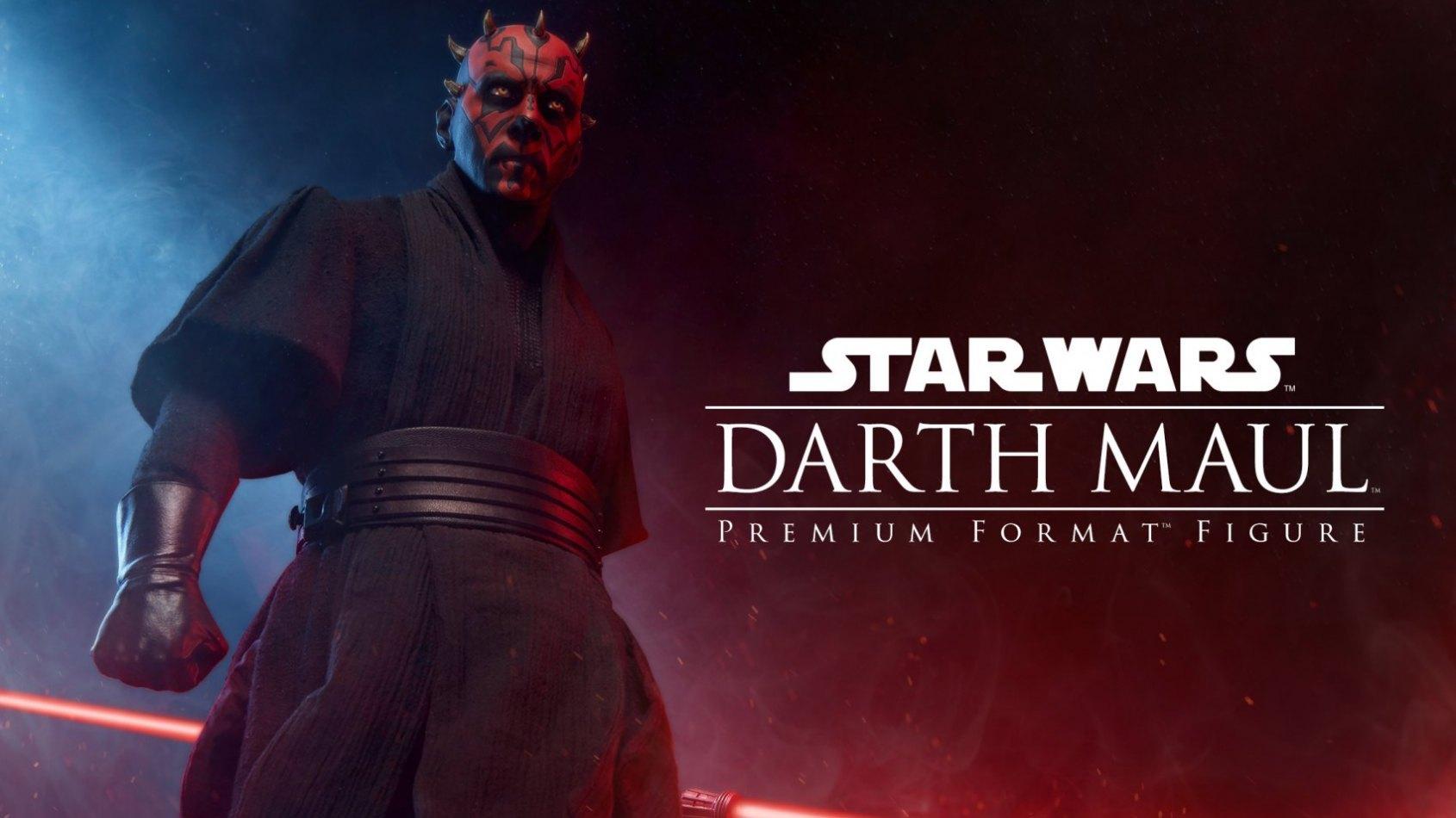 La figurine de Darth Maul annoncée en Format Premium chez Sideshow