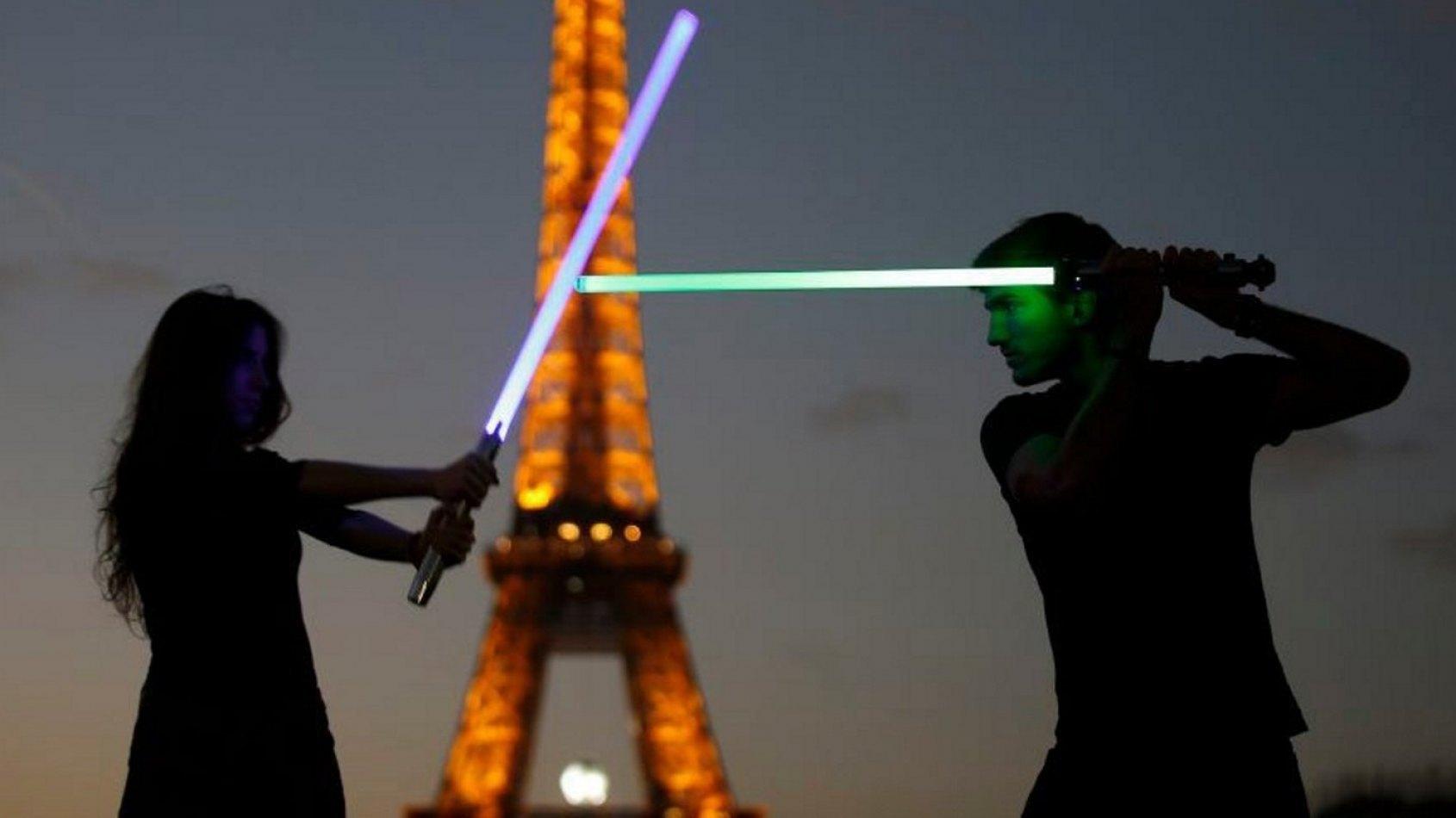 Le premier championnat de France de Sabre Laser !