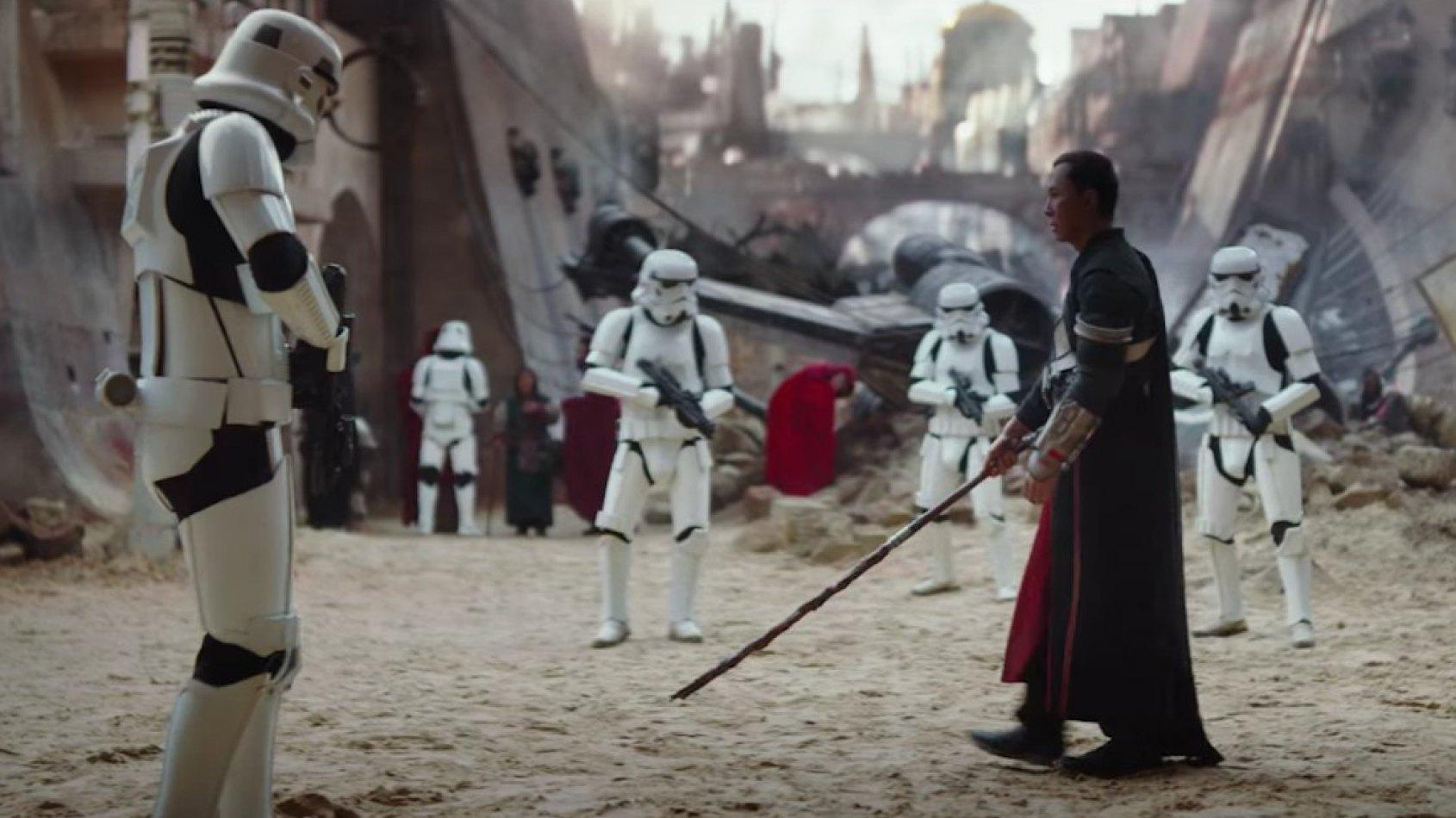 Donnie Yen va retourner des scènes pour Rogue One